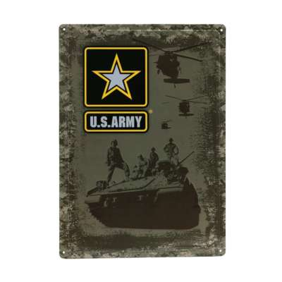 415151 2426 99 01 400x400 - Plaque déco en métal #104 U.S. ARMY
